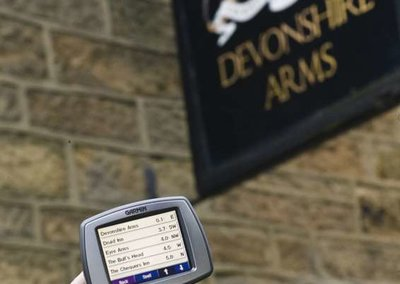 Foodie satnav software launches