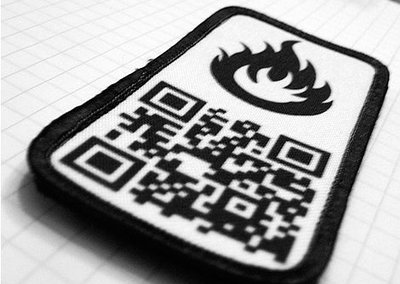 QR code p8tches launched