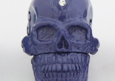 USB skull ring flash drive launches