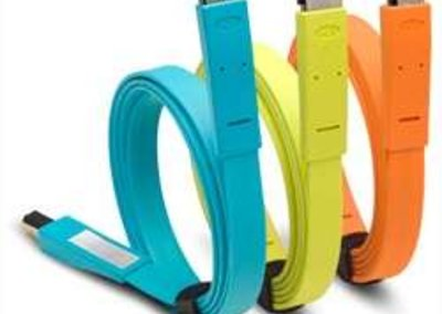 LaCie launches colour-coded Flat Cables