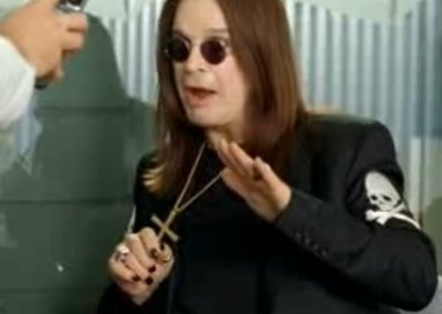 VIDEO: Ozzy Osbourne advertises Samsung phones