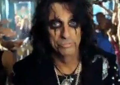 VIDEO: Alice Cooper stars in new Sony Bravia ad