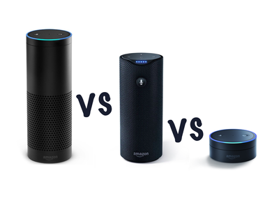 Amazon Echo vs Amazon Tap vs Echo Dot: What's the difference?