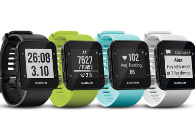 Garmin Forerunner 35 adds heart rate monitoring to line-up