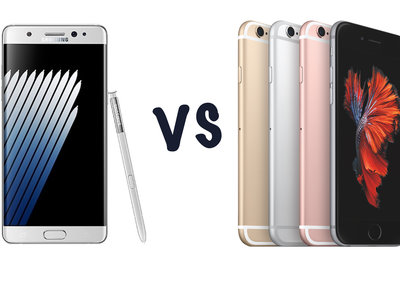Samsung Galaxy Note 7 vs Apple iPhone 6S Plus: What's the rumoured difference?