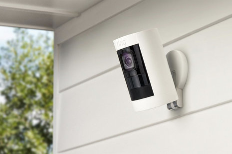 Ring Stick Up Cam now available, simple to install 1080p security camera