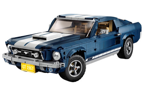 Now Lego's Creator Expert series gives us a customisable Ford Mustang