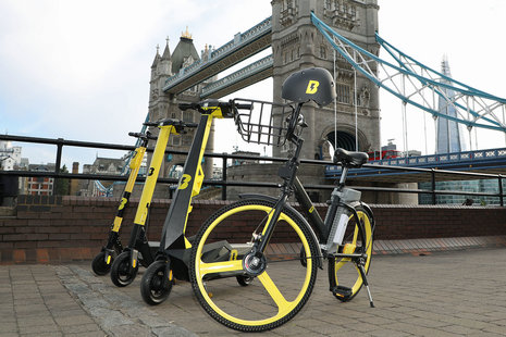 Usain Bolt is bringing his micromobility rental company to the UK