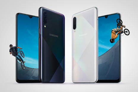 Samsung unveils Galaxy A50s and A30s mid-rangers with 'holographic' design