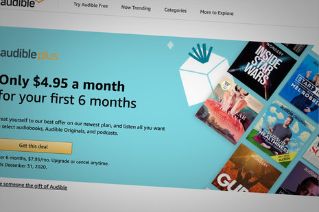 Audible Plus deal: Save nearly 40% off your first six months