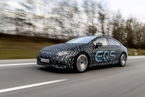 Mercedes EQS electric saloon launch: How to watch it live