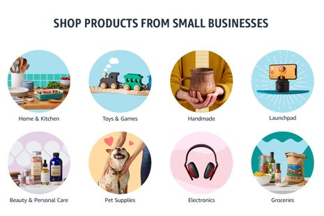 You can get $10/£10 off this week when buying from small businesses on Amazon