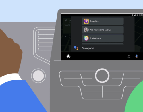 How to easily access car games with Android Auto