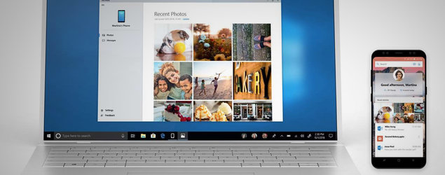 Microsoft's new app lets you mirror an Android phone to your PC