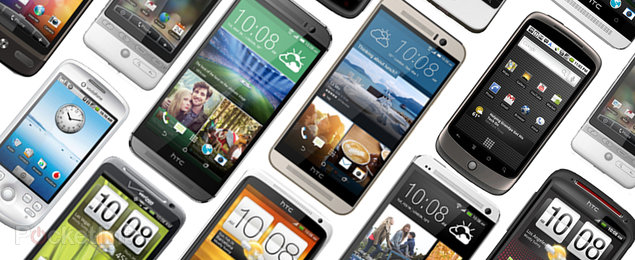HTC through the ages: A brief history of HTC's Android handsets