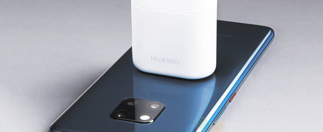 Huawei Freebuds 2 Pro is an AirPods rival that can be charged from a Mate 20 wirelessly