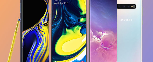 Best Samsung phones: Galaxy S, Note and A compared