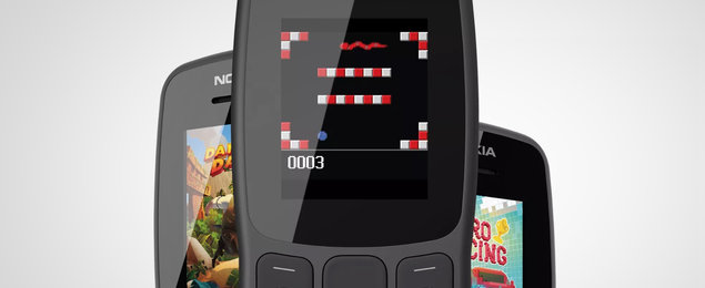 HMD invites you to play Snake on its new Nokia 106 feature phone
