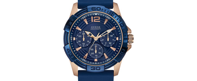 Guess contactless watch collection combines bPay with analogue style