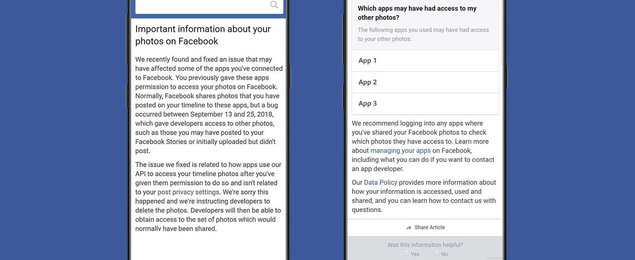Another Facebook privacy scandal: devs had access to the photos of 6.8 million users