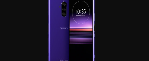 Is Sony's Xperia XZ4 actually called Xperia 1? Here it is in purple