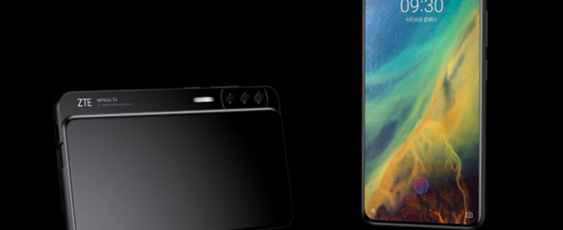 ZTE Axon S and ZTE Axon V leaks show two phones with wild designs