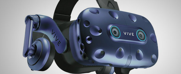 HTC made a lip-tracking module for the Vive Pro VR headset