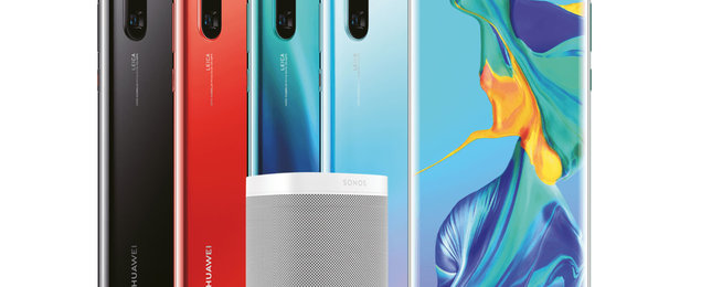 Huawei P30 pre-order deals will include a Sonos One