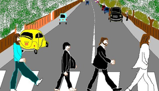 26 hilariously awesome album covers recreated in MS Paint