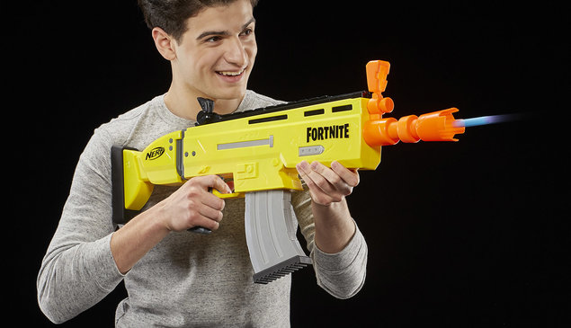 Best Fortnite gadgets and toys: Nerf blasters, AR Battle Bus and more