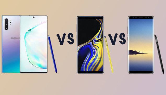 Samsung Galaxy Note 10 vs Note 9 vs Note 8: Should you upgrade?