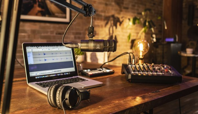 Audio-Technica launches AT2040 podcast microphone