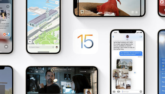 Apple releases iOS 15 and iPadOS 15 to all