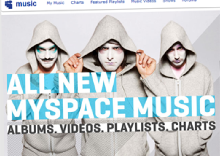 MySpace Music comes to UK