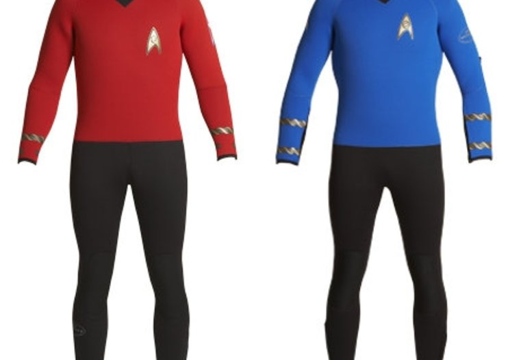 Star Trek uniform wetsuits available