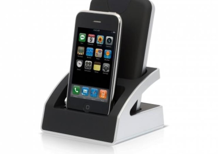 Buffalo Dualie - the iPhone and hard drive docking station