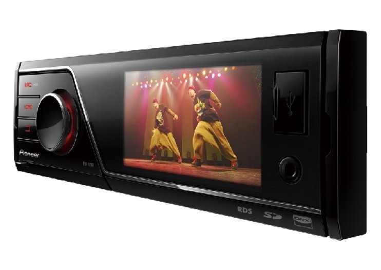 New Pioneer car stereo swaps CDs for SDs