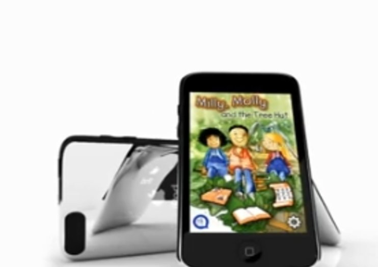 "VIDEO: Interactive iPhone and iPad ""QBooks"" launch for kids"