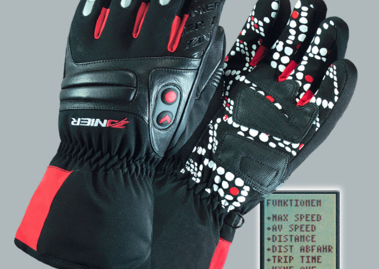 X-Plore.XGX GPS gloves to help skiers find their way