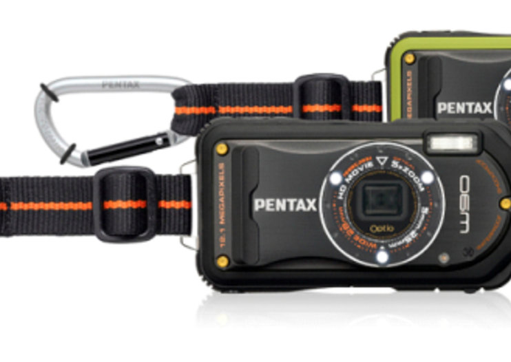 Pentax Optio W90 waterproof camera debuts