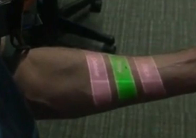 VIDEO: Skinput sees human body as controller