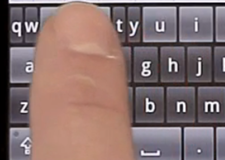 ThickButtons makes Android keyboard dynamic