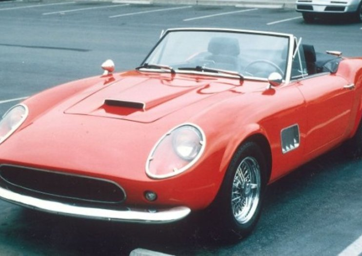 Ferris Bueller Ferrari replica goes to auction