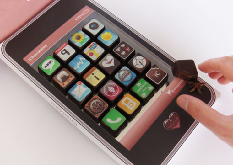 """Apple""-flavoured chocolates go down a treat"
