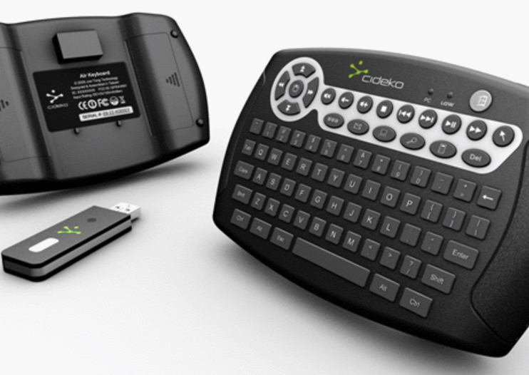 Cideko Air Keyboard released