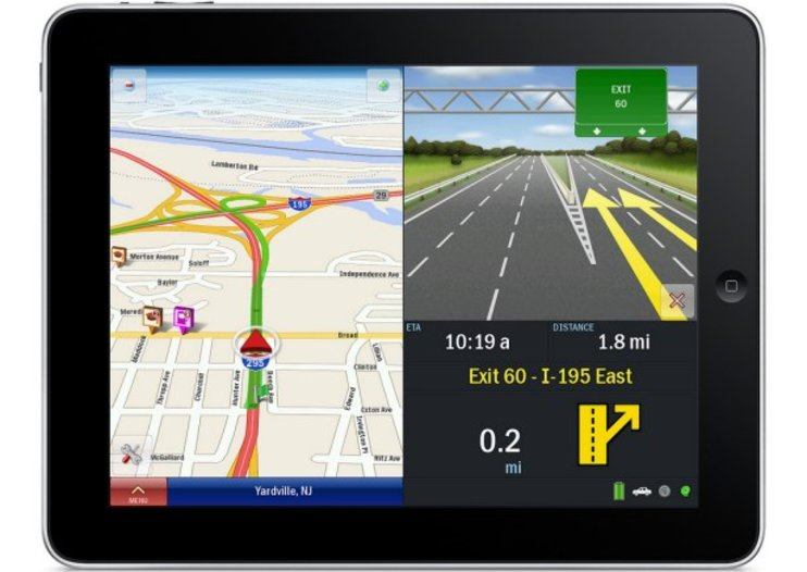 CoPilot Live HD for iPad inbound