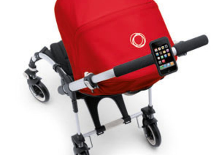 Bugaboo offers iPhone holder for modern parents
