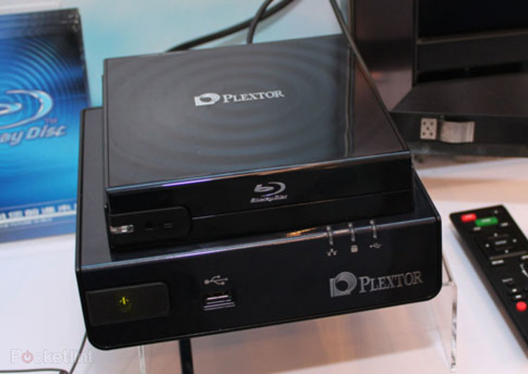Plextor media player comes with Blu-ray support