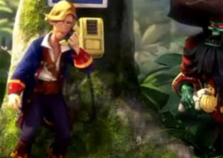 Monkey Island 2 gets swish makeover