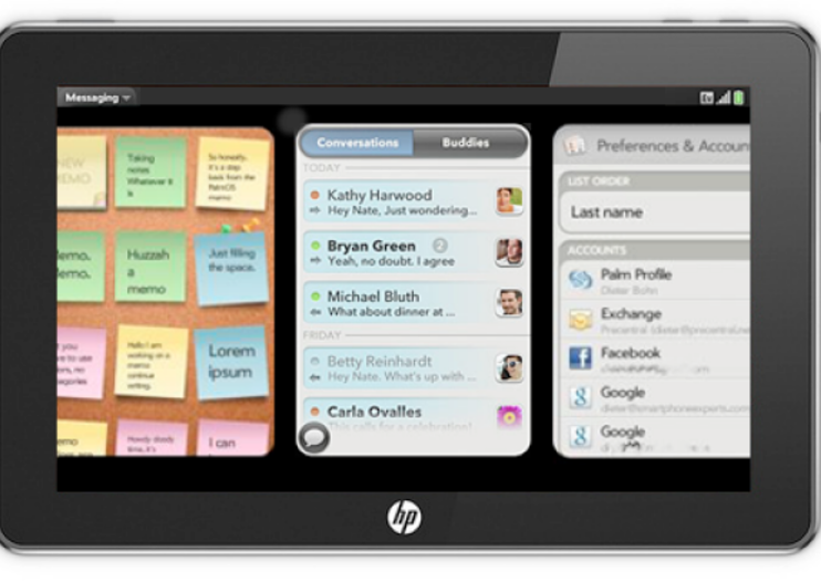 HP webOS tablet confirmed